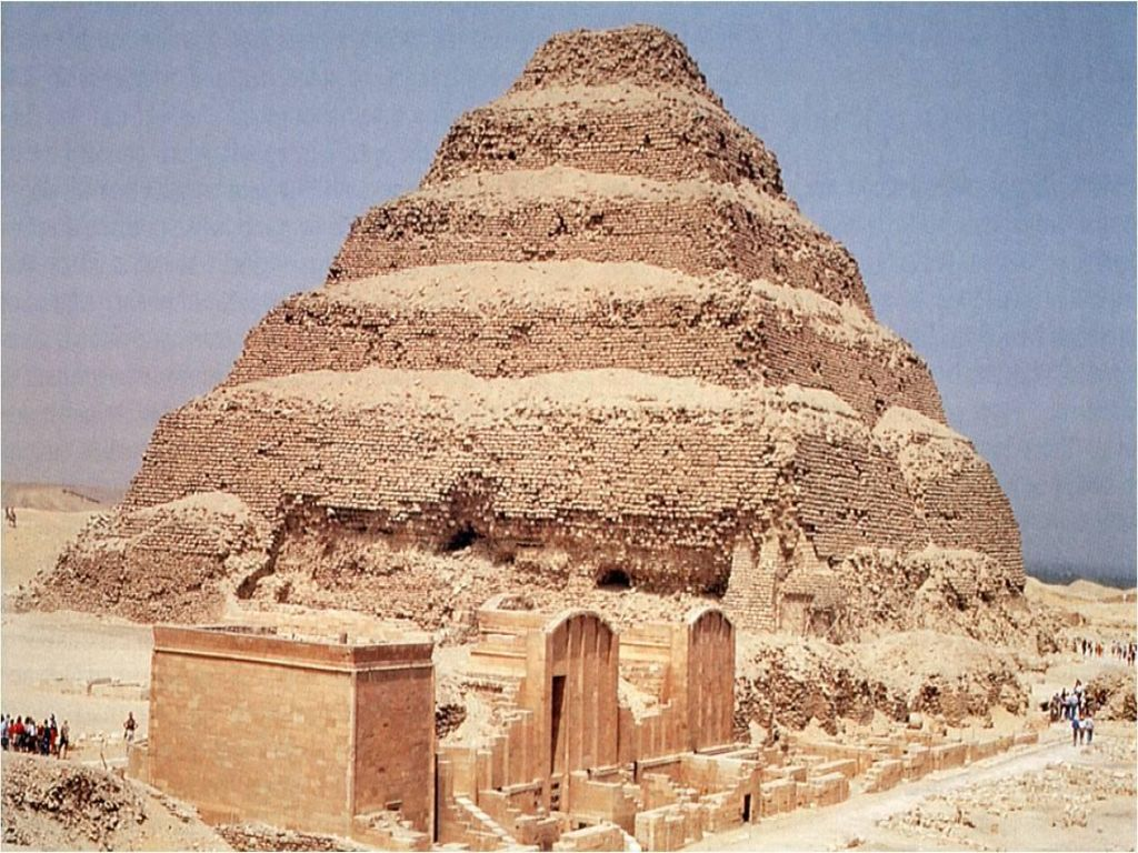 Combined Giza and Sakkara Pyramids Day Tour from Ain El Sokhna Port