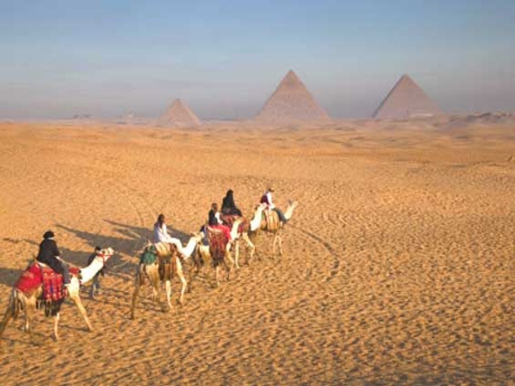 Camel/Horse Ride at the Great Giza Pyramids