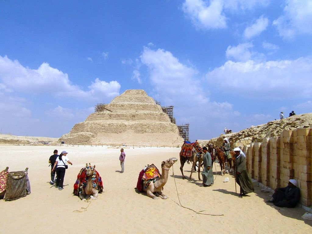 Day excursion to Pyramids, Sakkara & Memphis