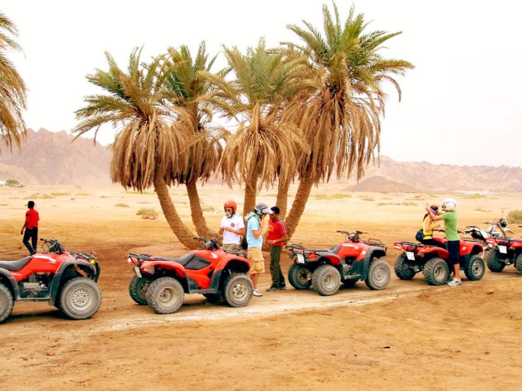 Desert Safari Trip by Quad Bike in Hurghada