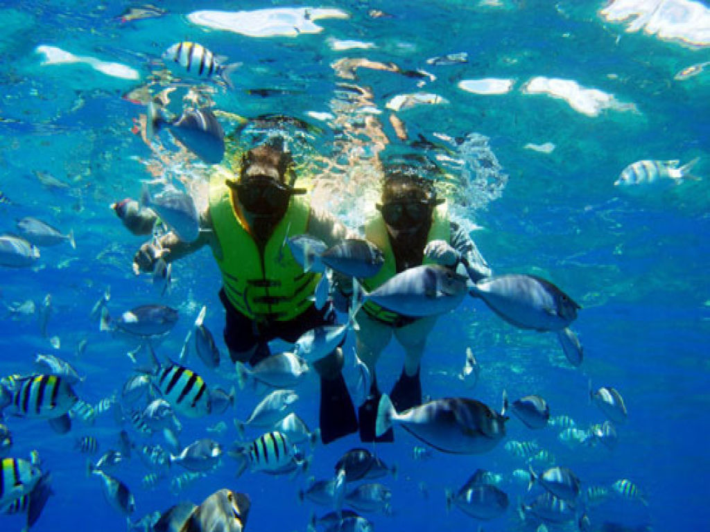 Snorkeling and recreational trip to Sharm El Naga Bay from Hurghada