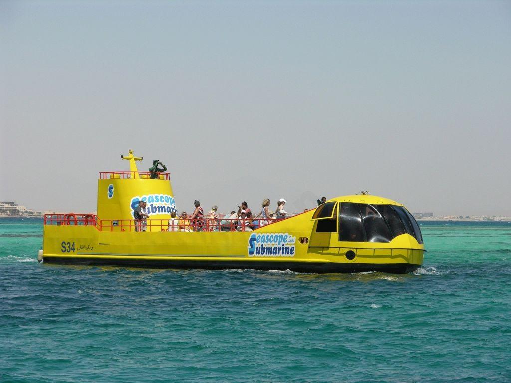 Hurghada Semi-Submarine Trip