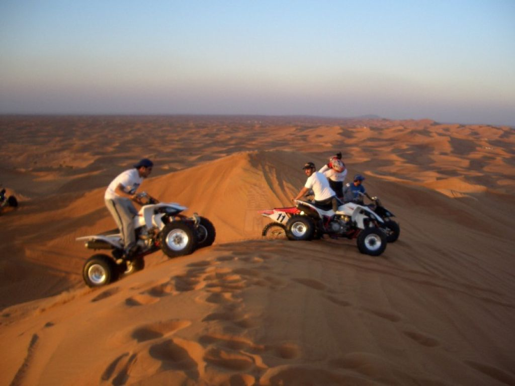Sunset Safari trip by Quad Bike Hurghada