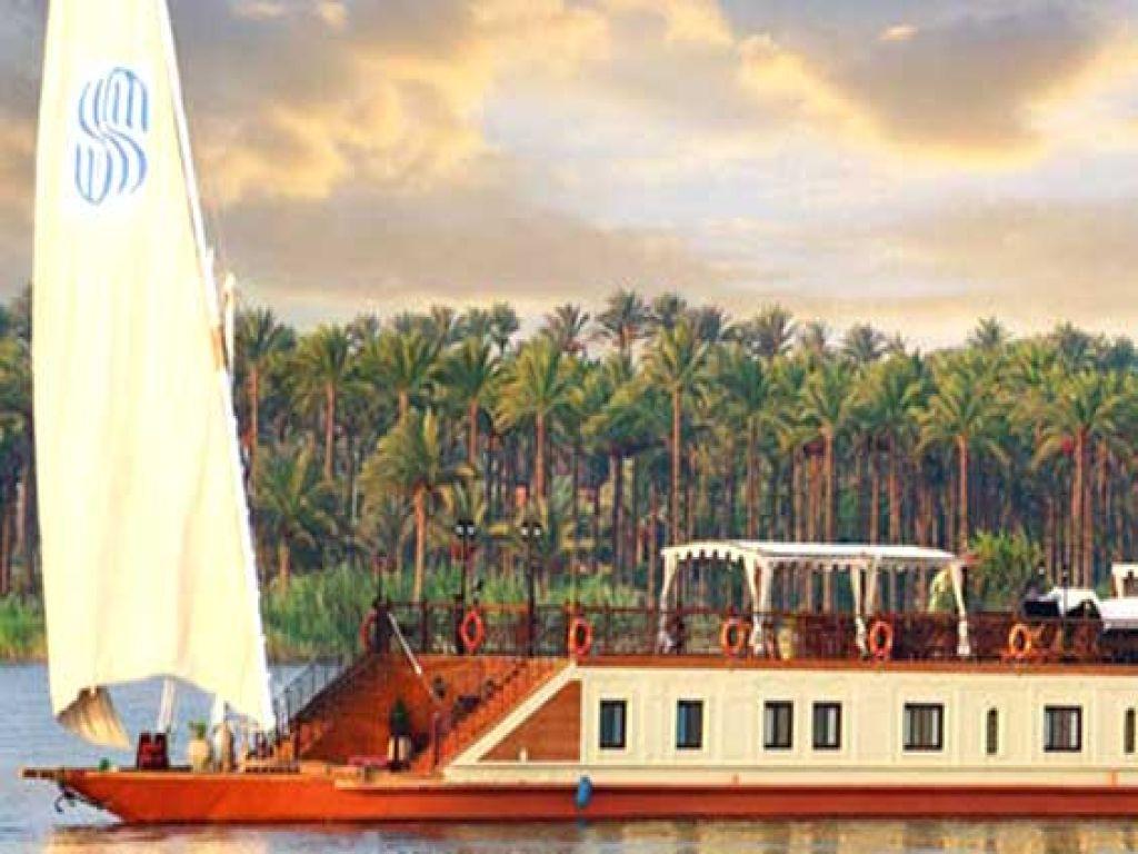 Sonesta Amirat Dahabeya Nile Cruise 8 Days - Aswan