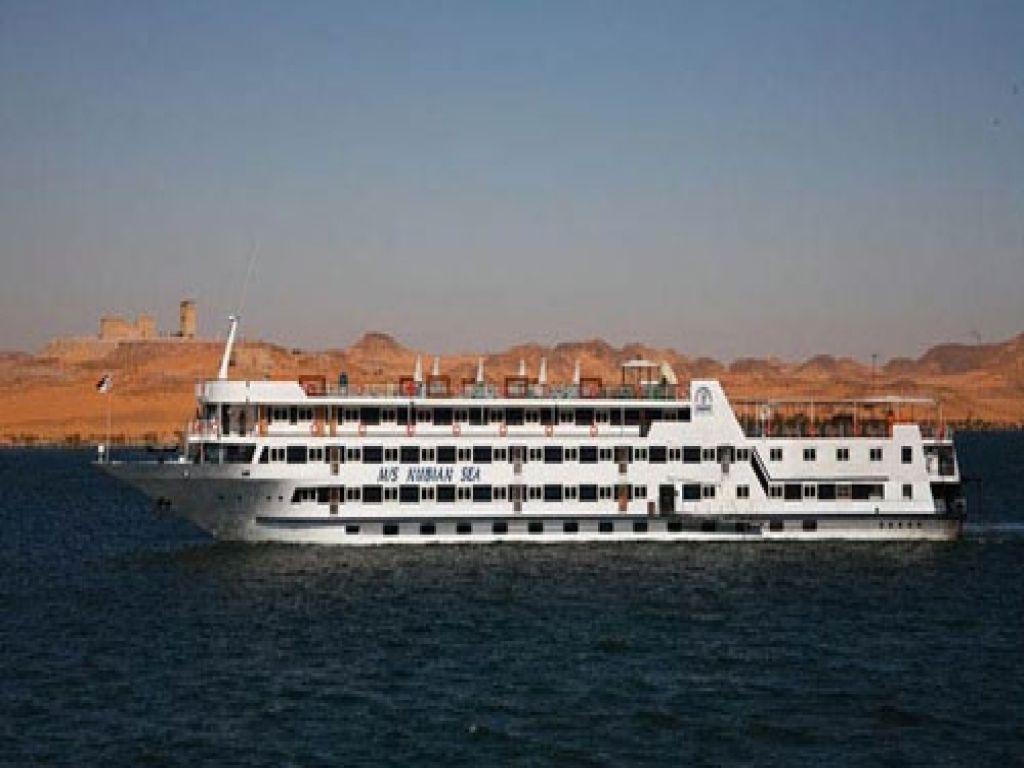 Lake Nasser Cruise MS Nubian Sea 3 Nights 4 Days