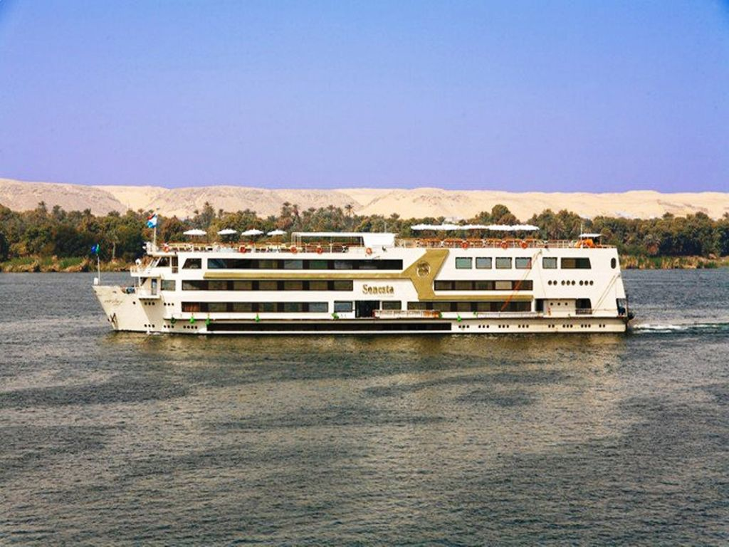 MS Nile Goddess Nile Cruise 4 days 3 nights