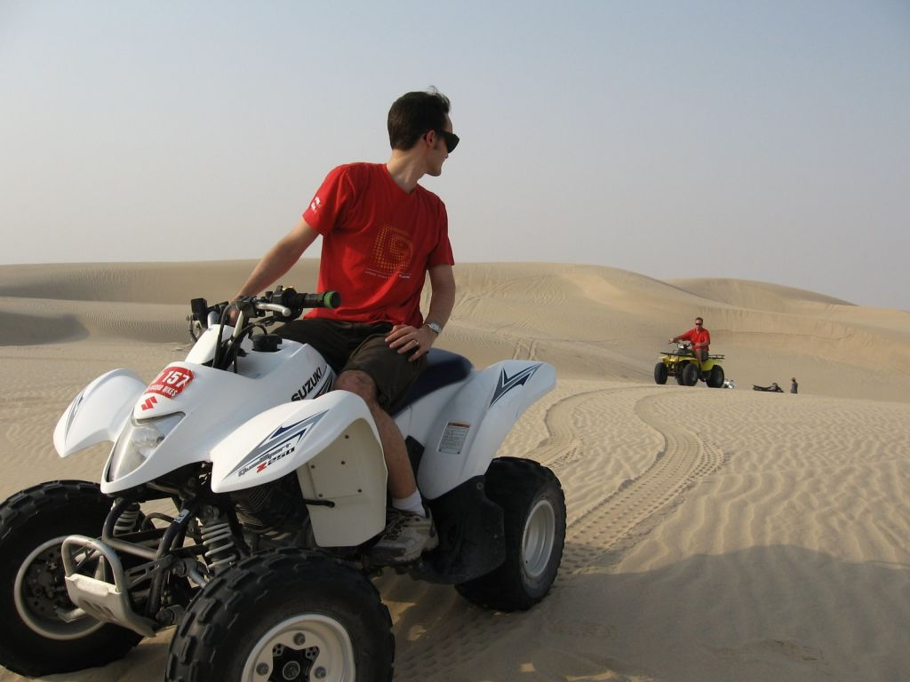 Sunset Quad Bike Safari Tours in luxor