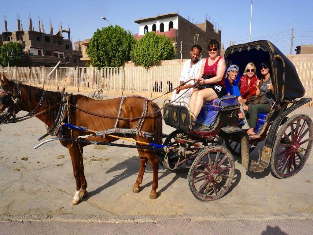 Horse-Drawn Carriage luxor ( city tours )