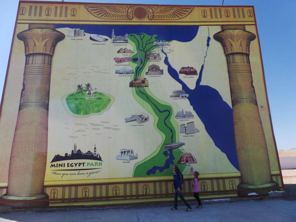 Mini Egypt Park Guided Tour from Hurgada