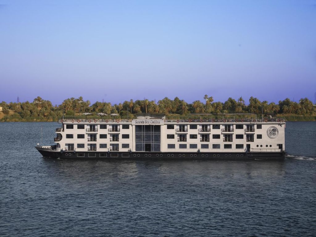 Sonesta star Goddess Nile Cruise 4 days 3 nights