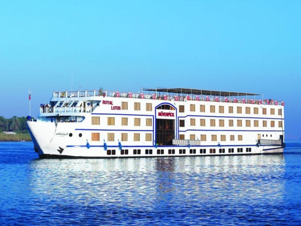 Movenpick MS Royal Lotus Nile Cruise 5 days 4 nights