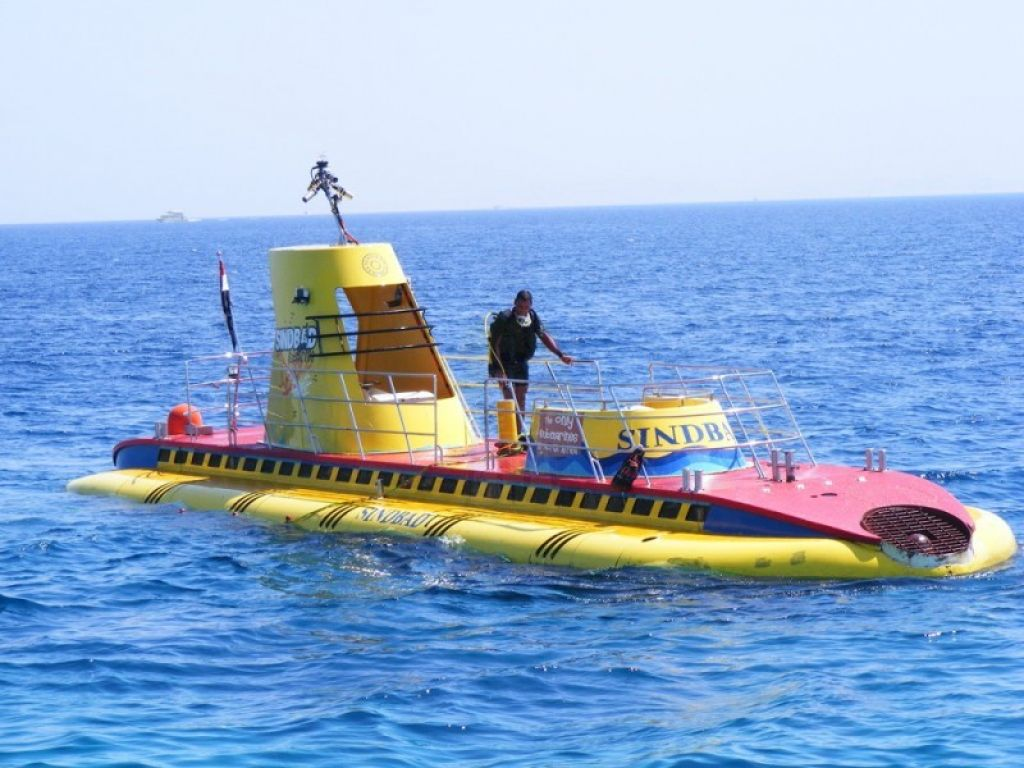 Submarine in Hurghada from Safaga Port